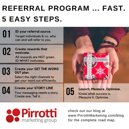 Get Referrals: 5 Easy Steps