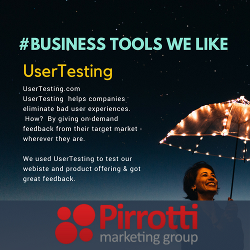 Business Tools We Like:  UserTesting (UserTesting.com)