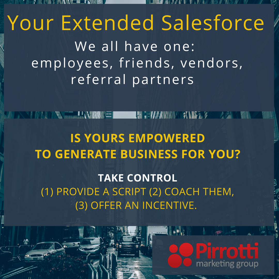 Your extended salesforce. We all have one.